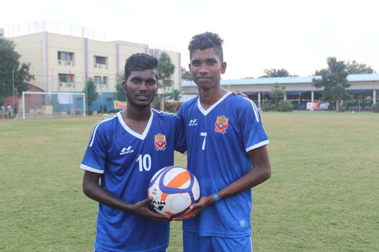 RVSS prodigies Sivasakthi and Kamalesh penned two-year contracts with Bengaluru FC reserve team.