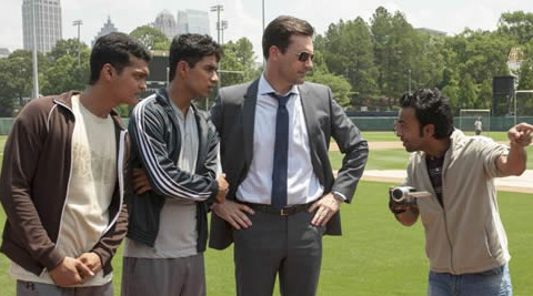 'Million Dollar Arm' is a true story of two Indian village boys who go on to become baseball stars in the US.