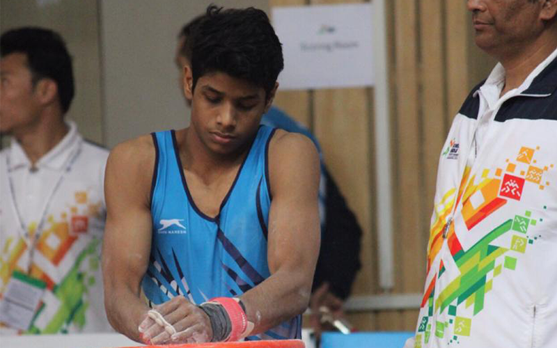 Chasing Perfection, Gymnast Tushar Kalyan targets Commonwealth Games medal