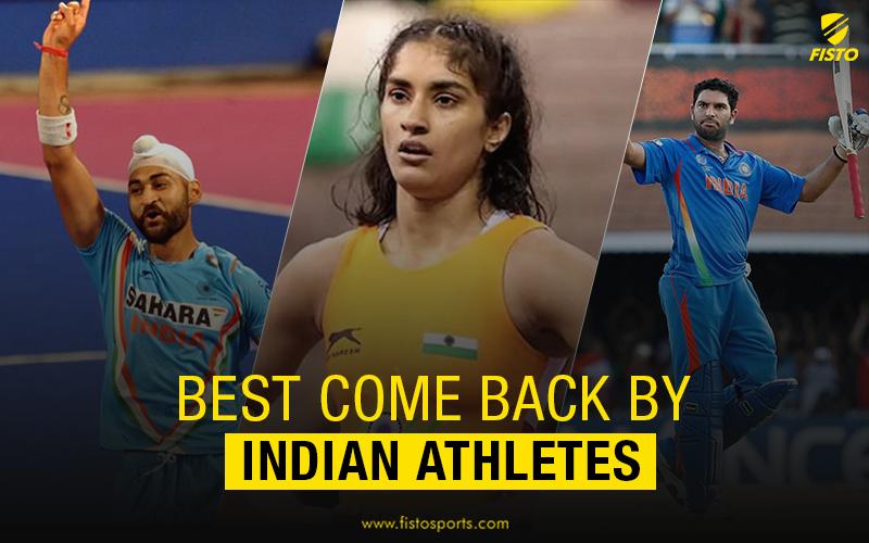Six astonishing comebacks by Indian athletes