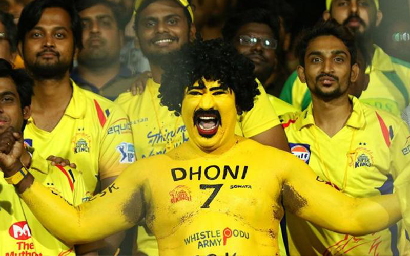 CSK's Whistle Podu Army wishes to blow again