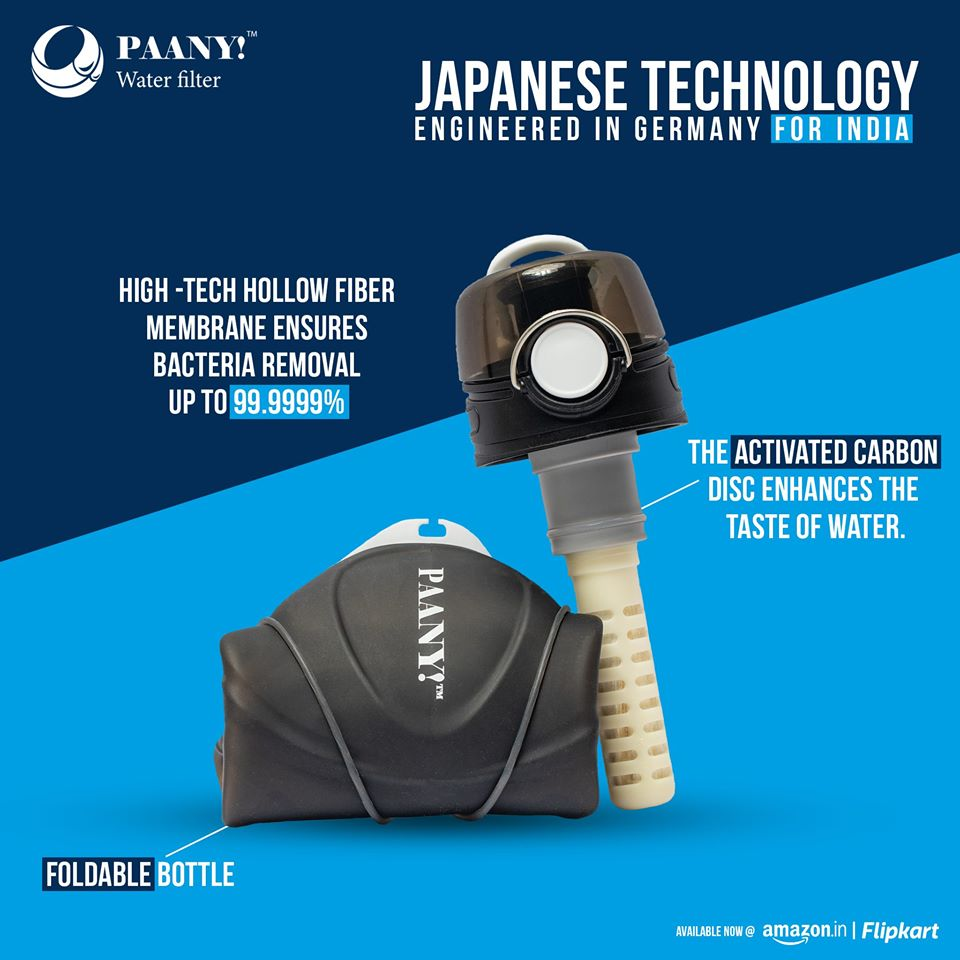 PAANY! - Water Filter Bottle