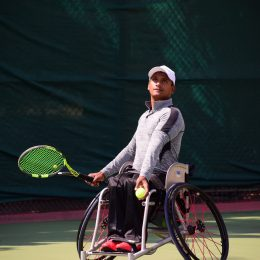 Karthik and Prathima emerge champions in Wheelchair Tabebuia Open 2018