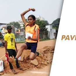 14-year-old Pavithra loves sprinting