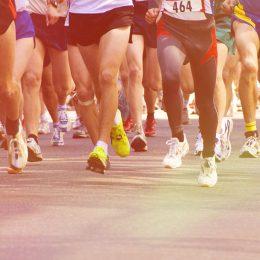 Marathon in India event race