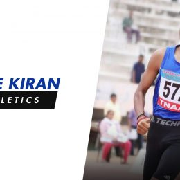 "Sree Kiran: ""Goal is to improve my timing and set new records at Khelo India Games"""