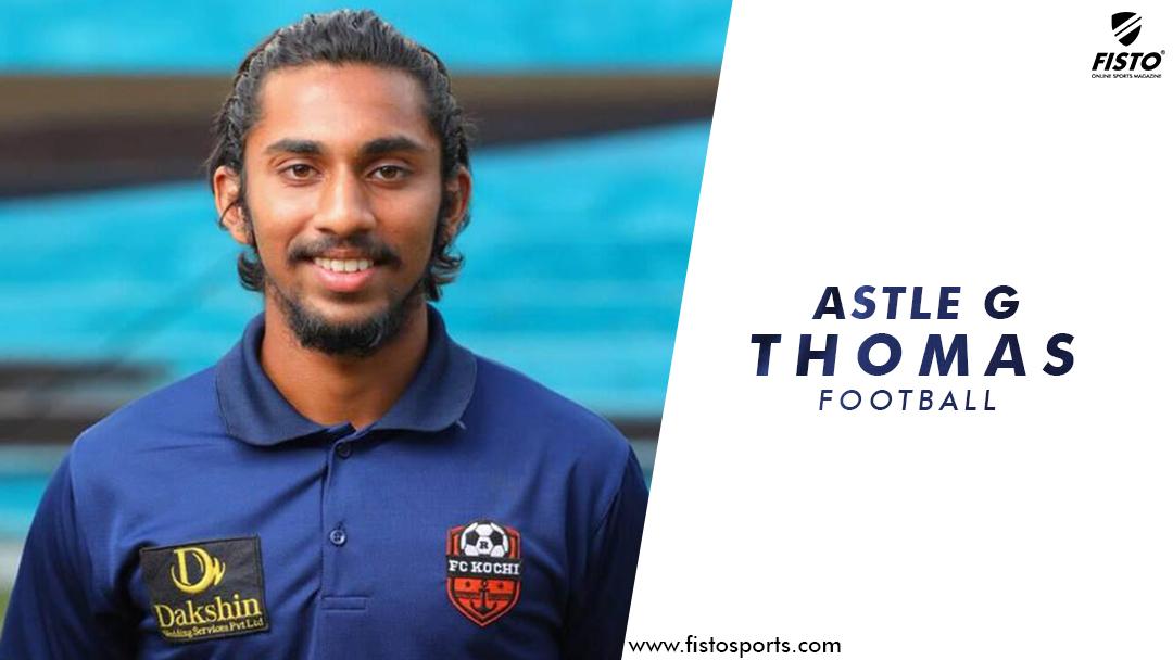 Astle G Thomas: Nirmala College teen with big football dreams