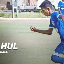 """Playing for Chennaiyin FC (U-15) strives me to do better"" - K Rahul"