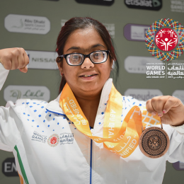 Indian Special Olympians continues to rack up the medals