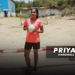 """Priyanka: """"Hockey has been first love, but I had to switch to handball as my college did not have a hockey team"""""""