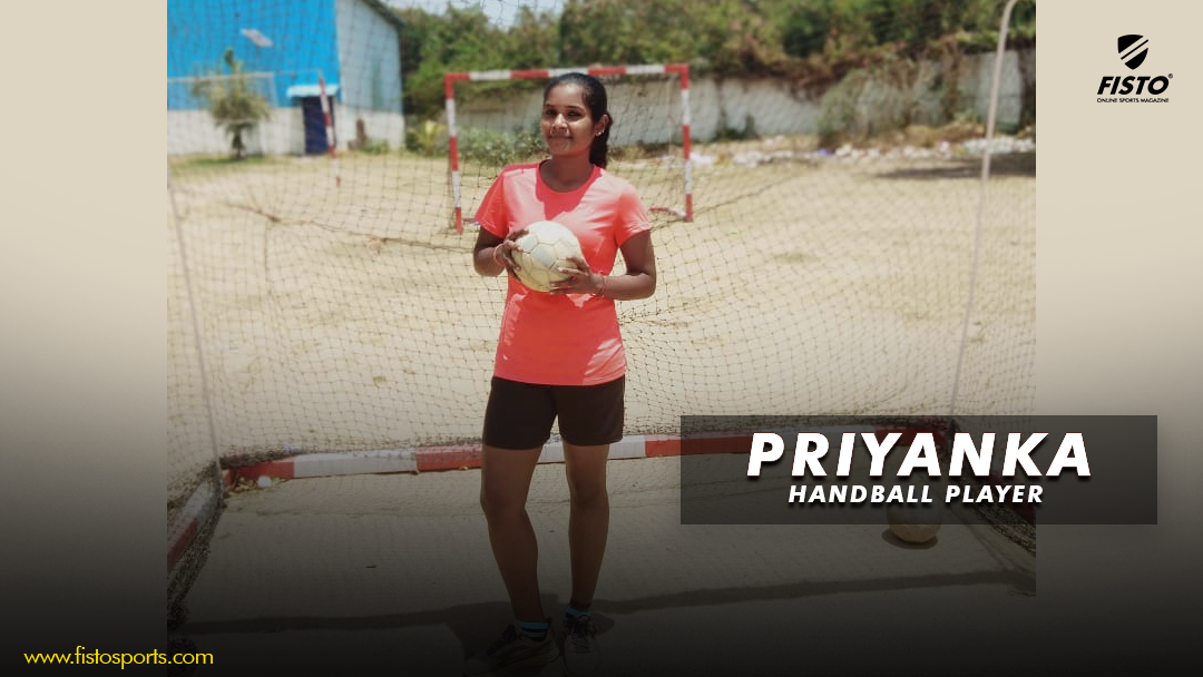 "Priyanka: ""Hockey has been first love, but I had to switch to handball as my college did not have a hockey team"""